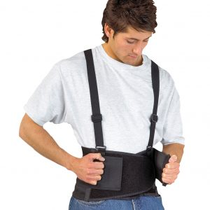 Protection du dos et des genoux